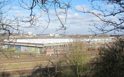 Patrimoine menacé: L'Atelier Diesel Traction de la SNCB – Gare de formation à Schaerbeek