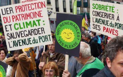 Avenue Du Port: BruxellesFabriques, ARAU et IEB signent un communiqué de presse commun