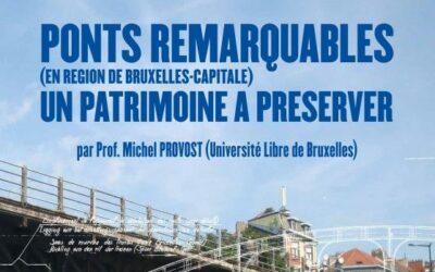 Cycle de conférences: Ponts remarquables en Région Bruxelloise