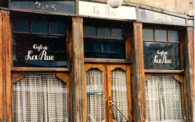 """Patrimoine: Classement du café """"La Rue"""""""